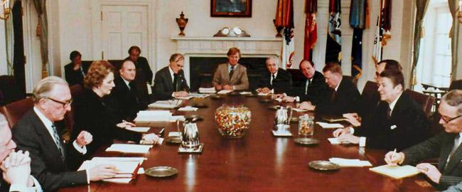 Reagan-Thatcher_cabinet_talks