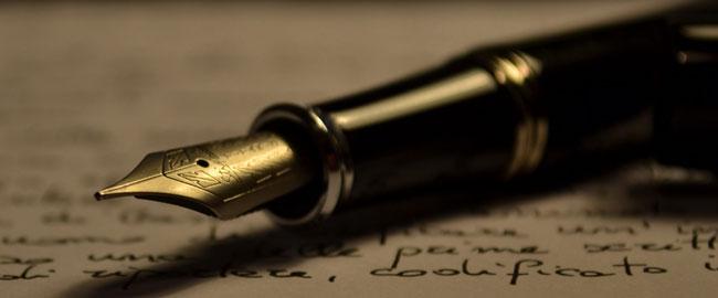 כותבת כתיבה עט נייר שפה Stipula_fountain_pen