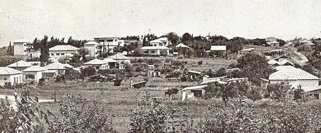רעננה בשנות ה-50 Raanana_ca1950