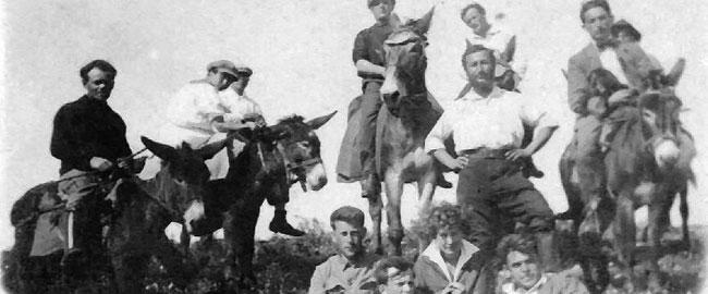 קבוצת פועלים-חלוצים בגן-שמואל, 1913 (מקור: ארכיון גן-שמואל) ציוונת ganshmuel