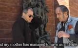 גדעון ספירו מתראיין לסרטון של נטלי כהן וקסברג (צילום מסך) spiro-wachsman