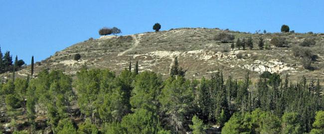 תל עזקה בעמק האלה Azeka22