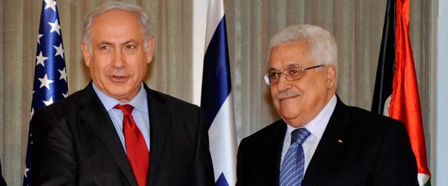 בנימין ביבי נתניהו ומחמוד עבאס אבו מאזן בבית ראש הממשלה, 2010 Netanyahu_Abbas