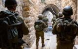 """חיילי צה""""ל ברחובות חברון במסגרת מבצע שובו אחים 14/6/14 hebron-IDF"""