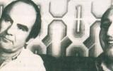 גדעון ספירו (שמאל) ופייסל חוסייני (ימין) SPIRO140712