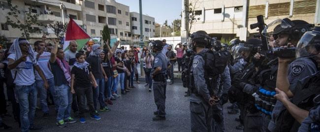 הפגנה נגד המתקפה על עזה, נצרת 21/7/14 (צילום: אקטיבסטילס) צוק איתן פלסטינים כיבוש מלחמה gaza-nazereth