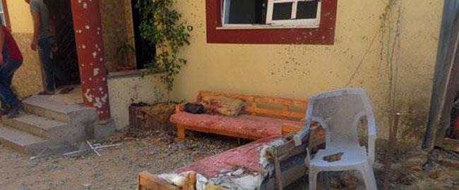 הפצצת בית בעזה צוק איתן צילום: מוחמד סבאח, בצלם, 9.7.14 gaza2014