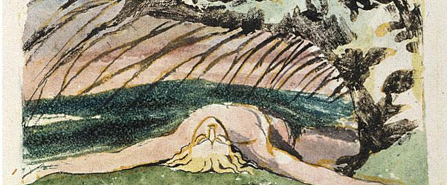 """איור לשירו של וויליאם בלייק """"עץ רעל"""" מוות poisontree"""