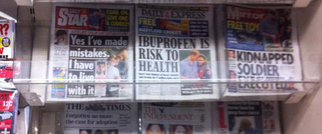 צהובונים בריטים עיתונות תקשורת רכילות British_tabloids
