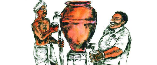 סוציאליזם לעשירים וקפיטליזם לעניים, גרסת הודו מס מיסים taxgaps