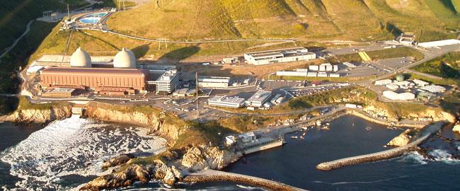 """תחנת כח גרעינית בקליפורניה, ארה""""ב אנרגיה סביבה  nuclear_power_plant"""