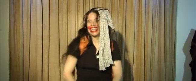 נטלי כהן וקסברג (צילום מסך מתוך הסרטון 'צבא מוסרי') waxberg