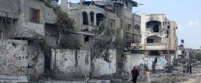 עזה 2014 צוק איתן (צילום: בצלם) gazastreet