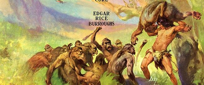 טרזן מלך הג'ונגל מתוך כריכת הספר Tarzan at the Earth's Core