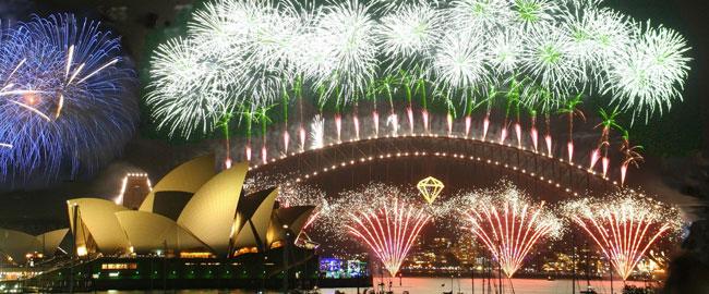 מקבלים את פני השנה החדשה בסידני אוסטרליה, 2007 סילבסטר ניו ייר new  year sylvester