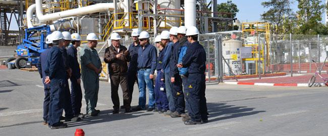 סכסוכי עבודה הוכרזו בשלושה ממפעלי כימיקלים לישראל בנגב (תמונה: אתר ההסתדרות) מchil-shvita
