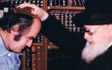 הרב עובדיה יוסף מברך את גדעון ספירו spiro-maran