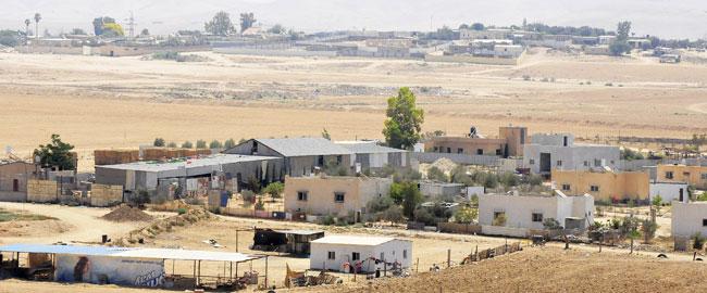 הכפר א-סייד שבנגב בדואים בדווים מדברAlSayyid_houses2