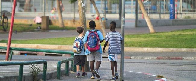 ילדים בגינת לוינסקי המוקד לפליטים ולמהגרים  levinsky-kids