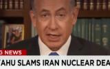"""נתניהו בטלוויזיה האמריקאית נגד ההסכם עם אירן CNN ארה""""ב גרעין נשק גרעיני אטום netanyahu-iran"""