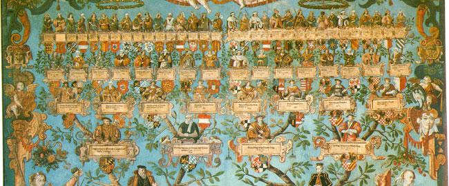 אילן יוחסין של מלך לודוויג הרצוג וון וורטנבורג  משפחה מלוכה מלך היסטוריה עם familytree