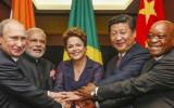 מנהיגי ארגון ה-BRICS: ברזיל, רוסיה, הודו, סין ודרום אפריקה במפגש שקיימו באחרונה ברוסיה (צילום: סוכנות הידיעות הסינית) BRICS