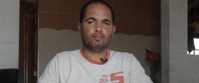 פאדי אלערג'א, בן 30 מרפיח, אב לארבעה (צילום: רופאים לזכויות אדם) fadielarja