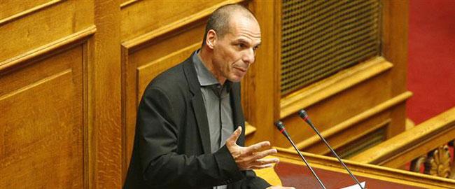 שר האוצר לשעבר יאניס ורופקיס בממשלת סיריזה היוונית (צילום: מורנינג סטאר) varoufakis