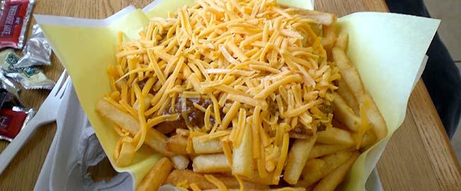 שומן טראנס, אוכל צ'יפס ג'אנק גבינה שחיתות חזירות trans-fat