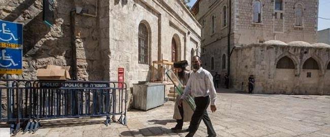 הגבלות על כניסתם של פלסטינים לעיר העתיקה בירושלים, 4/10/15 (צילום: אקטיבסטילס) jerusalem-pal-restriction
