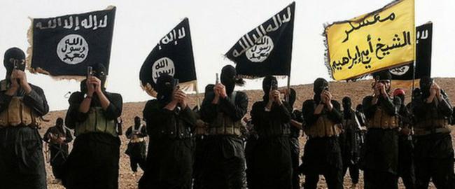 """לוחמי דאע""""ש בעיראק, 2015 (מקור) ISIS"""