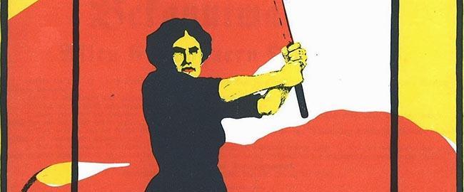 נשים אישה פמיניזם קומוניזם מרקסיזם דגל אדוםcommielady