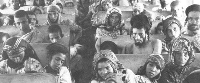 עולים מתימן בדרכם לישראל (צילום: ויקיפדיה) היסטוריה מזרחים ציונות  oleyemen2