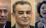 """חברי הכנסת של סיעת בל""""ד ברשימה המשותפת (מימין לשמאל): ח""""כ חנין זועבי, ח""""כ ג'מאל זחאלקה, וח""""כ באסל גטאסbalad"""
