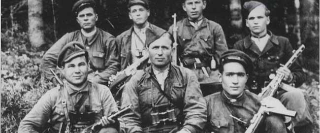 חיילי המליציה של בנדרה (מקור) אוקראינה מלחמת העולם השנייה, פשיזם banderists