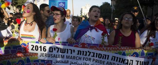 מצעד הגאווה בירושלים, 2016 (צילום: אקטיבסטילס) להטבק jerusalempride