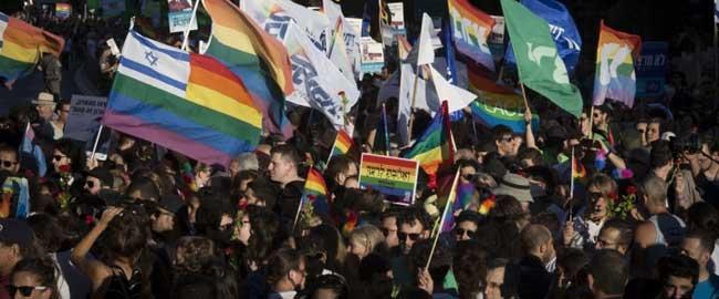 מצעד הגאווה בירושלים, 2016 (צילום: אקטיבסטילס) pridparade2016