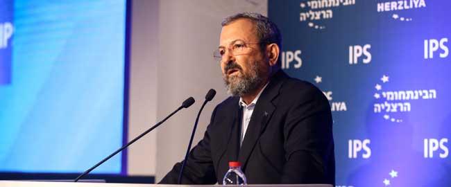 אהוד ברק בכנס הרצליה, 2016 (מקור) Herzliya_Con-barak