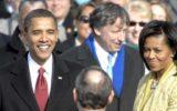 """טקס ההשבעה של נשיא ארה""""ב ברק אובמה, ינואר 2009 (מקור) obama-swear"""