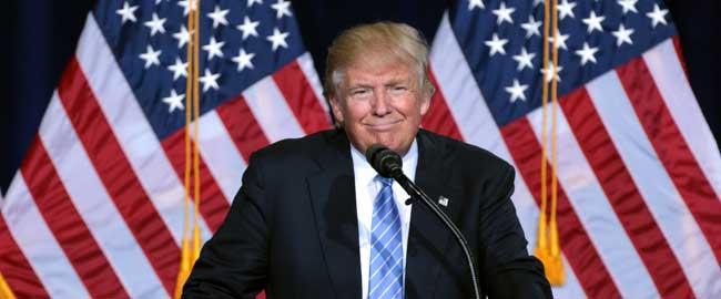 """דונלד טראמפ, 2016 (צילום: Gage Skidmore) ארה""""ב בחירות רפובליקנים trump-pence"""