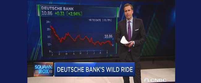 סיפורו של דויטשה בנק בתרשים אחד פשוט (צילום מסך,CNBC) סטטיסטיקה כסף פיננסים כלכלה deutschebankswild