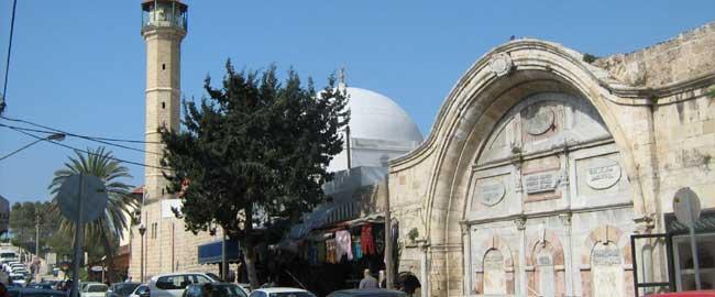 מסגד מחמודייה ביפו (מקור) אסלאם מוסלמים דת תל אביב mahmudija_124