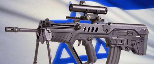 """רובה """"תבור"""" שנמכר בכמויות לכוחות הביטחון של אזרבייג'ן (מקור) מלחמה רובים נשק ישראל דגל אקדח isragun"""