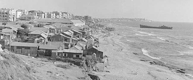 שכונת מחלול בתל אביב הוקמה בשיטת ה'חאפ' (צילום: אתר נוסטלגיה אונליין) telavivold